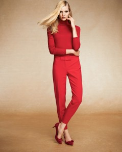 Essential Turtleneck $69.50, Bow Pant $98, Bridget Bow Pumps $128