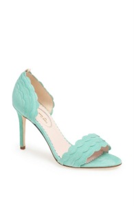 """Bobbie"" pump in mint"