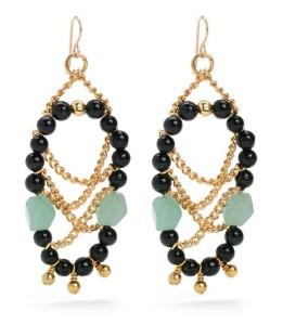 "Purple Aura Jewels ""Carina"" earrings"