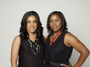 The beauties behind the brand, Cynthia (left) and Natara (right)!