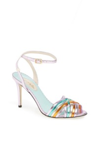 """Maud"" sandal in metallic multi"