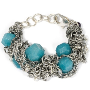 "Purple Aura Jewels ""Nautilus"" bracelet"