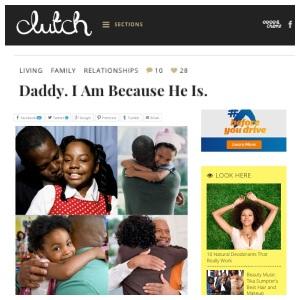 daddy on clutch